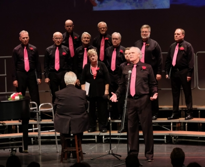 Bassos and Tenors performed Tell My Father in All About Love, Spring 2018