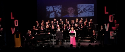 Jenny Kim-Godfrey Singing I Love You More by Ann Hampton Callaway (part of Tyler's Suite, a nine-piece choral movement dedicated to the memory of Tyler Clementi, a talented young musician who died by suicide after being bullied by his roommate during his first weeks of college.)